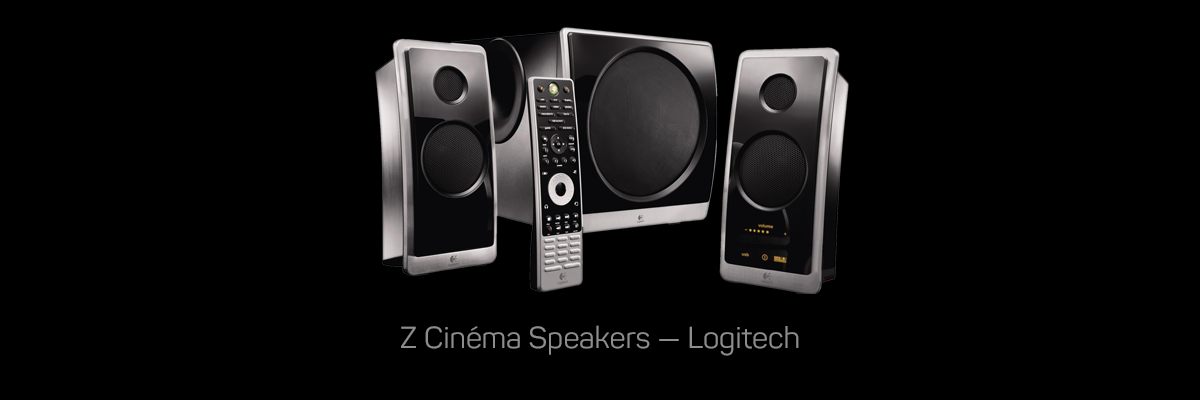 Z Cinema Speakers, Logitech